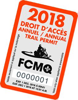 FCMQ - Droit d'accès 2018